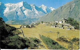 Nepal THYANGBOCHE   .TEMPLE  AND  KWANGDE - Népal