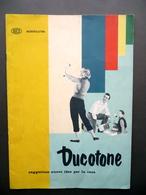 Ducotone Duco Montecatini Fascicolo Pubblicità Colori Interni Casa Design 1957 - Vecchi Documenti