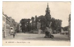 29 FINISTERE - ROSCOFF Place De L'Eglise, Roulotte De Gens Du Voyage - Roscoff