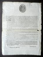 Grida Contro Homini Sciagurati Banditi Alfonso II Duca Ferrara Modena 1586 - Vecchi Documenti