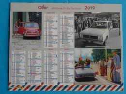 CALENDRIER  ALMANACH  DU  FACTEUR  2019  NEUF - Calendriers