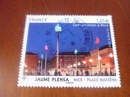 OBLITERATION RONDE  SUR TIMBRE GOMME ORIGINE YVERT N° 4683 - Francia