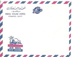 Enveloppe Mena House Hotel Pyramids - Egypt   Des Années 50 - Dépliants Touristiques