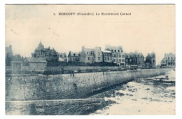 29 FINISTERE - ROSCOFF Le Boulevard Carnot (voir Descriptif) - Roscoff