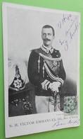 S.M. Victor Emmanuel III Roi D'Italie - Familles Royales