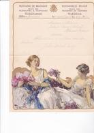 TELEGRAMME DE PHILANTROPIE / 1932 / MONTALD / DEPART FORCHIES  / TOUSSAINT - Stamped Stationery