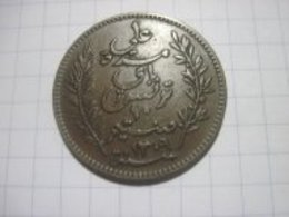 Tunisia 10 Centimes 1892 VF+ - Tunisia