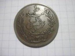 Tunisia 10 Centimes 1892 VF+ - Tunisie