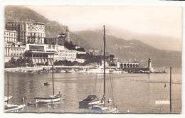 MONACO VUE SUR MONTE CARLO L HOTEL DE PARIS LE CASINO ET LE PORT - Monte-Carlo