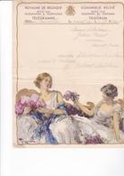 TELEGRAMME DE PHILANTROPIE / 1932 / MONTALD / BRUXELLES  / TOUSSAINT - Stamped Stationery