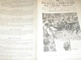 JOURNAL DU DIMANCHE / FRANCO RUSSE /TSAR A PARIS - Journaux - Quotidiens
