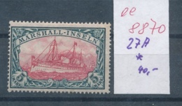 Marshall Inseln Nr. 27  A *    (ee8870  ) Siehe Scan - Kolonie: Marshall-Inseln