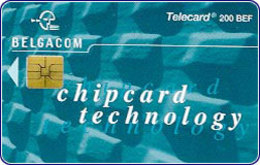 BELGIUM ::  CP-05 1000BEF CHIPCARD TECHNOLOGY  Perfect Usud (printed Only 2500 !!) - Avec Puce