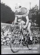 CPM FEDERICO MARTIN BAHAMONTES OMAGIO DEL G.D.FAEMA - Cyclisme