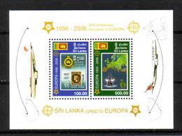417a * SRI LANKA/CEYLON BLOCK 102 * EUROPA * MICHEL 15,00 * POSTFRISCH **!! - Sri Lanka (Ceylon) (1948-...)