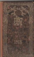 AGENDA P. L. M. - 1918 - COMPLET AVEC SES 12 CARTES POSTALES - NOMBREUSES ILLUSTRATIONS ET PAGES PUBLICITAIRES - Libros, Revistas, Cómics