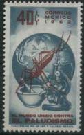 1962 Messico, Lotta Alla Malaria Paludisme , Serie Completa Nuova (**) - Messico