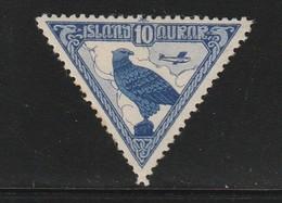 ISLANDE - PA N°3 * (1930) Le Faucon - Poste Aérienne