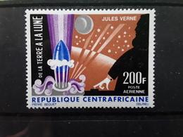 Republique Centrafricaine,  1966  Yvert PA 41 , Conquête De La LUNE / Jules Verne Neuf ** MNH TTB - Space