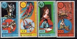 Comores N° 321 / 24  X  Année Internationale De L'enfant La Série Des 4 Valeurs  Trace De Charnière Sinon TB - Comores (1975-...)