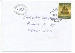 Primoketi Postage Due Porto Nachgebühr Cover - 31 October 1995 Vilnius-48 - Lithuania