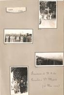 Liège Procession De N D Du Paradis à Ste Marie (22 Mai 1949)  4x Foto 4x Photo - Liege