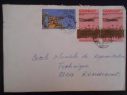 Ghana , Lettre De Aflao 1979 Pour Remiremont - Ghana (1957-...)
