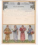 TELEGRAMME DE PHILANTROPIE / CASSIEN ? - Stamped Stationery