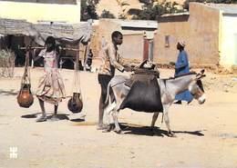 Afrique-TCHAD - OUM HADJER Batha Porteur D'eau (Timbre Stamp République Du TCHAD)(Photo Bwaso)   *PRIX FIXE - Tchad