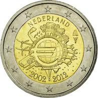 Pays-Bas, 2 Euro, 10 Ans De L'Euro, 2012, TTB, Bi-Metallic, KM:308 - Pays-Bas