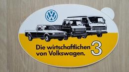 Aufkleber Mit Kfz-Werbung Aus Deutschland (Transportfahrzeuge Von VW) - Aufkleber