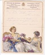 TELEGRAMME DE PHILANTROPIE / 1932 / TOUSSAINT / DEPART PATURAGES - Stamped Stationery
