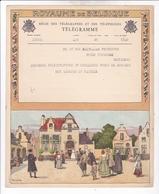 TELEGRAMME DE PHILANTROPIE / 1932 / LYNEN / DEPART LIEGE - Stamped Stationery