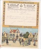 TELEGRAMME DE PHILANTROPIE / 1932 / LYNEN / DEPART PATURAGES - Stamped Stationery