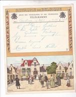 TELEGRAMME DE PHILANTROPIE / 1932 / LYNEN / DEPART ANTOING - Stamped Stationery