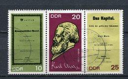 DDR Nr.1365/7 Streifen         O  Used       (21388) ( Jahr: 1968 ) - Gebruikt
