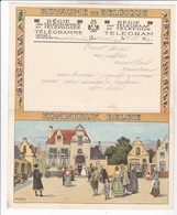 TELEGRAMME DE PHILANTROPIE / 1932 / LYNEN / DEPART MONT ........ - Stamped Stationery