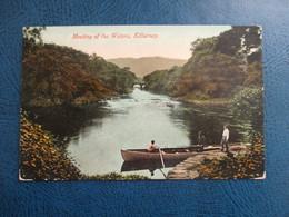CPA IRLANDE MEETING OF THE WATERS KILLARNEY BARQUE ANIMEE - Kerry