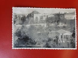 Palermo - Piazza Castelnuovo - Fotografica Viaggiata Il 20.7.1943 - Palermo