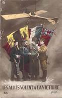 Militaria. Patriotique .Les Alliés Volent à La Victoire .Illustrateur Boulanger . ( Avion ) - Patriotiques