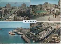 Le Havre Vues Pli Marque En Haut Coin Gauche - Le Havre