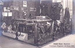 75 - PARIS -  Concours Hippique De Paris 1911 - Stand Beck Morrow - Hippisme - Equipement Cheval-  Carte Photo - France