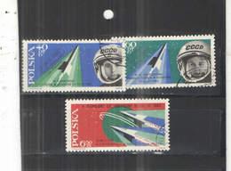 Polonia PO 1963 Volo Spazio Bykoski Ovpr. Scott.1175/1177+See Scan On Schaubek Page; - 1944-.... Repubblica