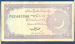 PAKISTAN 2 RUPEES (1993)  SIGN. MUHAMMAD YAQUB - Pakistan