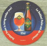 Sous-bock PALM La Dobbel Palm Est De Retour Bierdeckel Beermat Bierviltje (CX) - Sous-bocks