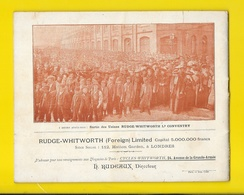 "Catalogue 1897 Cycles ""WHITWORTH"" 24 Pages + Couverture Format 22 X 18 Cm Env.. - Cyclisme"