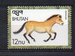 BHUTAN. HORSES. MNH (2R0807) - Pferde