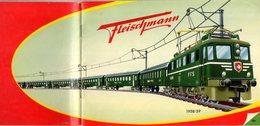 Catalogue FLEISCHMANN 1958/59 O - HO - Dampfmaschinen  - En Suédois - Livres Et Magazines