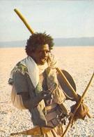 Afrique- - DJIBOUTI Berger Afar Sur Le Lac Assal    (- Editions :Bourlon 1000-53) *PRIX FIXE - Djibouti
