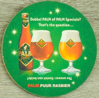 Sous-bock PALM Dobbel Palm Of Palm Speciale ? That's The Question Bierdeckel Beermat Bierviltje (CX) - Sous-bocks
